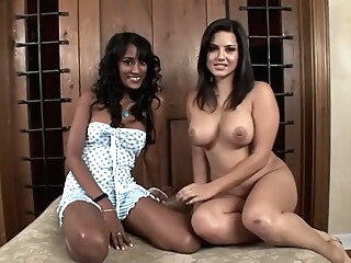 Crazy pornstars Serena Del Rio and Sunny Leone in best indian, cumshots porn movie big tits blowjob cumshot