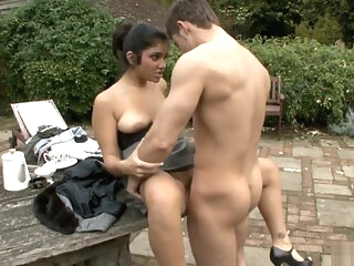 HOT INDIAN BRITISH GIRL OUTDOOR SEX amateur blowjob british